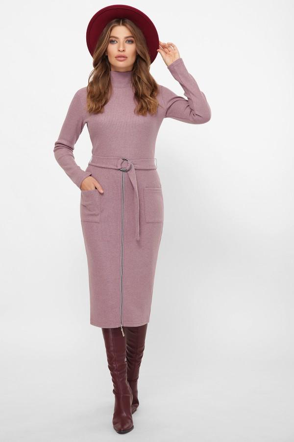 Платье Виталина 1 д/р GL61170 цвет т. лиловый