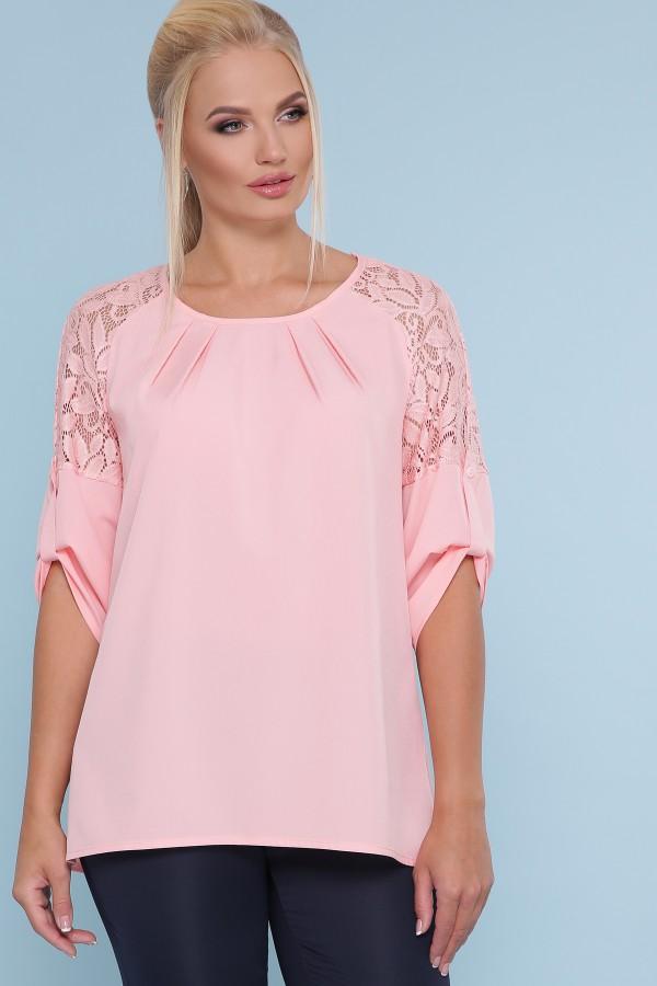 блуза Гретта-Б 3/4 GL47878 цвет персик