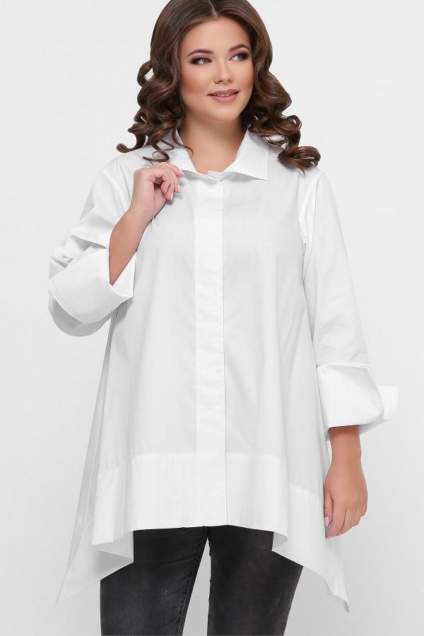0601 Рубашка GL55703 цвет белый