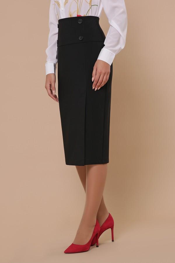 юбка мод. №42 GL51353 цвет черный