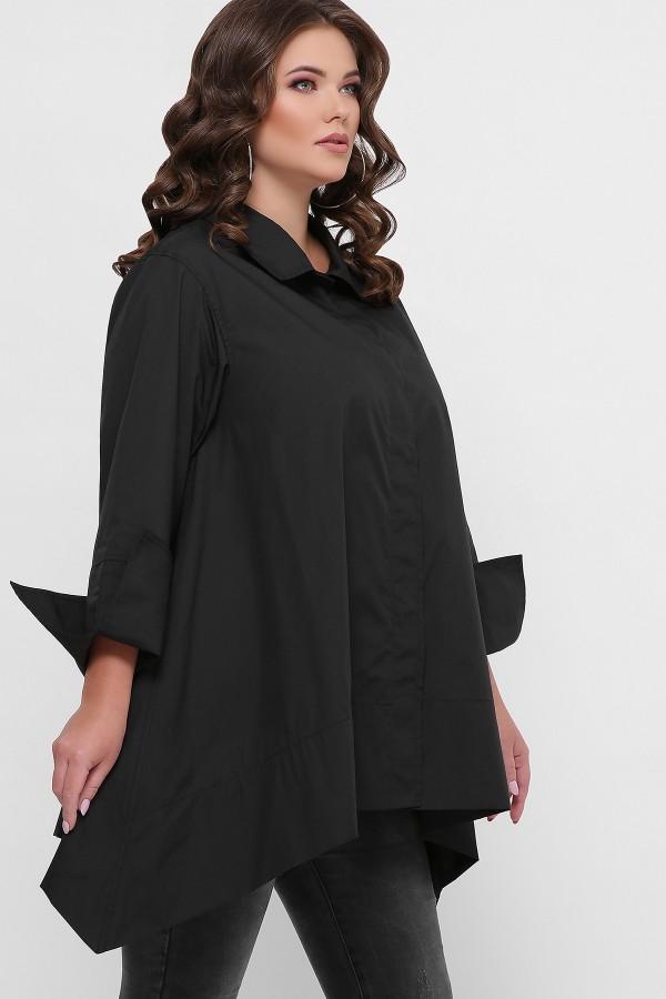 0601 Рубашка GL55708 цвет черный