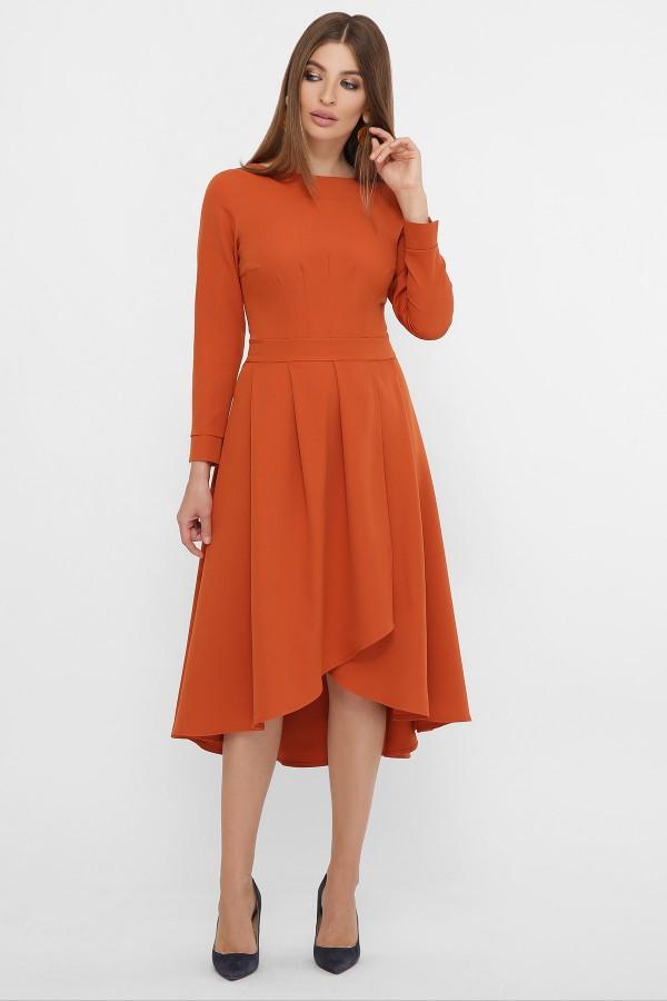 Сукня Ліка д/р GL62208 колір теракот