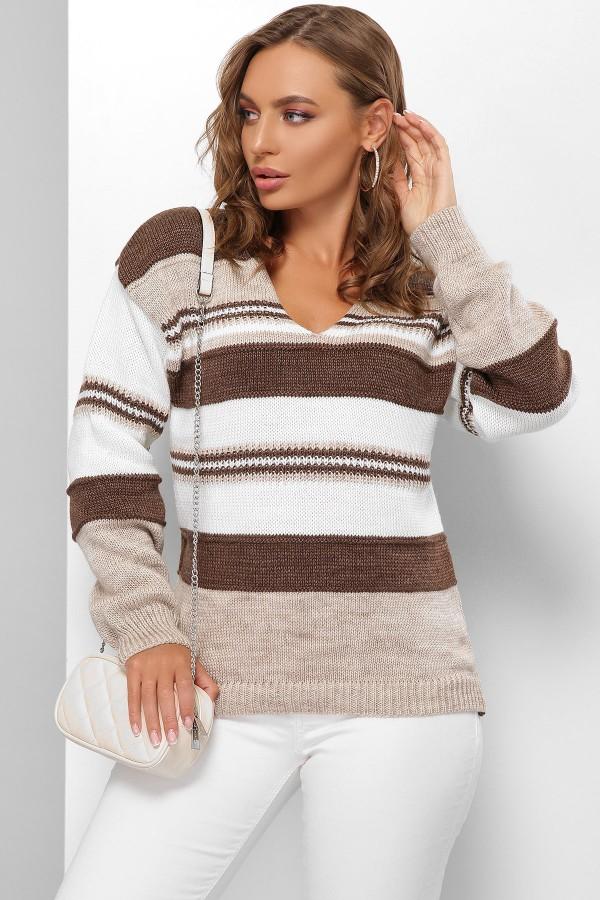 Джемпер 180 GL61772 колір коричневий
