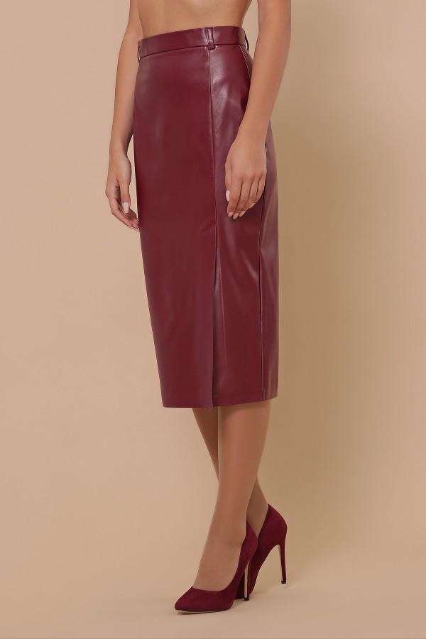 спідниця мод. № 40 GL51356 колір бордо