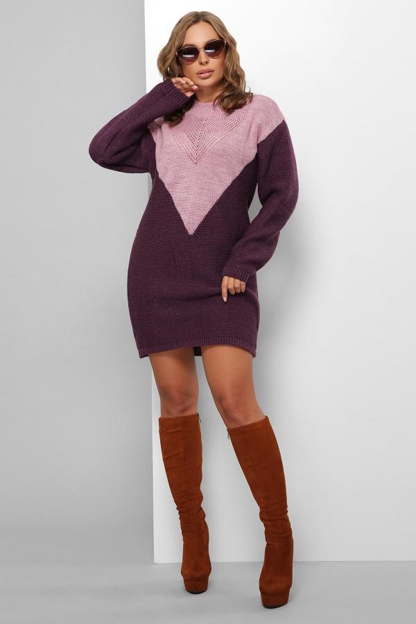 Платье 181 GL61822 цвет сирень-фиолетовый