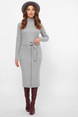 Плаття Віталіна 1 д/р GL61180 колір св. сірий