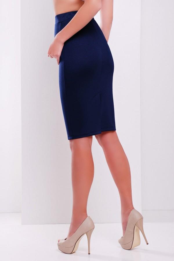 спідниця мод. № 20 GL27908 Колір темно синій