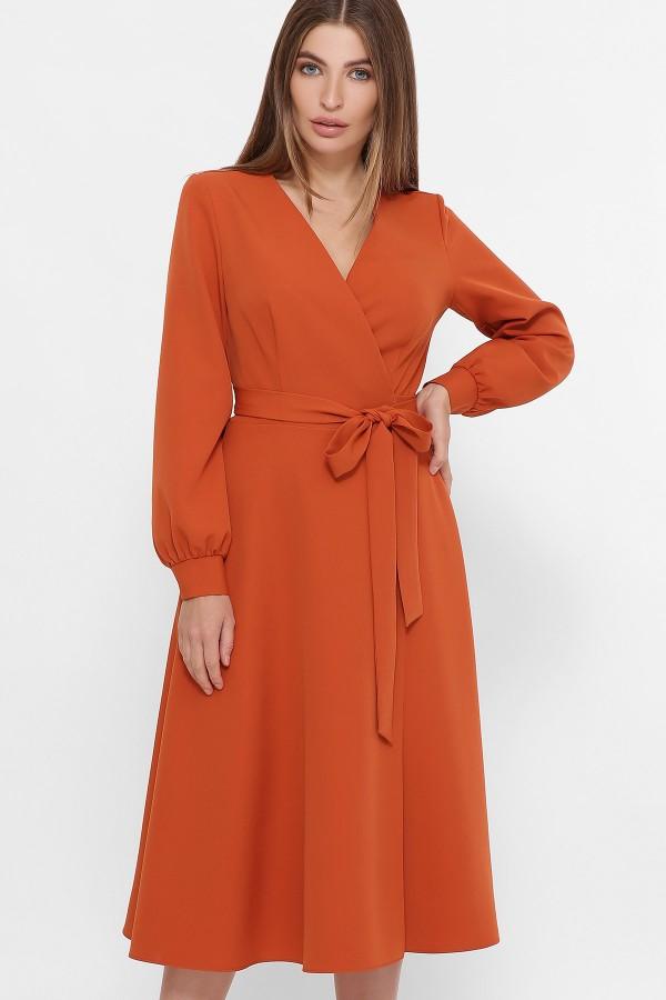 Сукня Дарена д/р GL61425 колір теракот