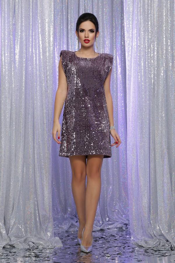 Плаття Авеліна б/р GL64490 колір ліловий