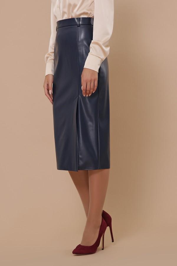 спідниця мод. № 40 GL51354 Колір Синій