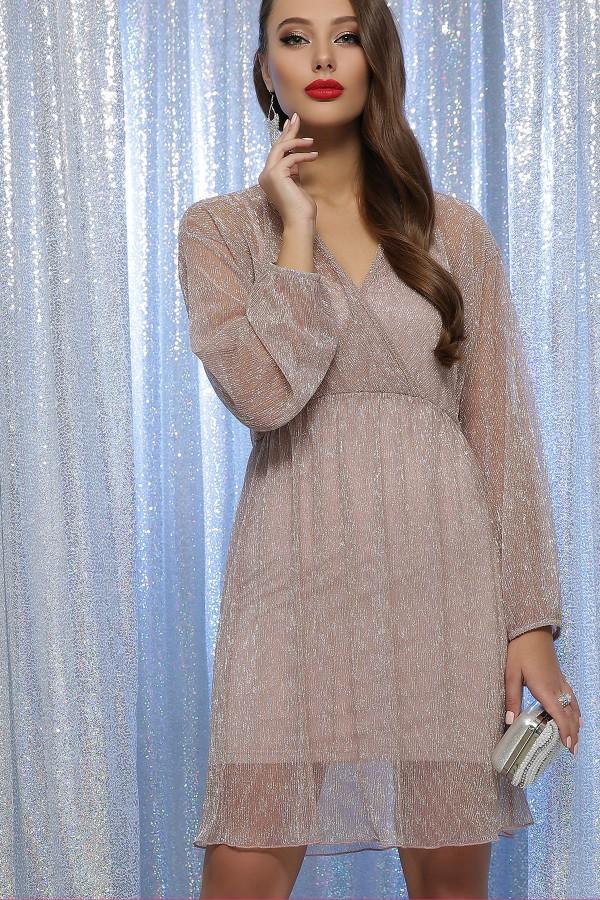 Святкова сукня Рузалія GL64669 пудра