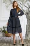 Сукня нарядна сезону 2021HD52802.  Довжина сукні по спинці - 95см.