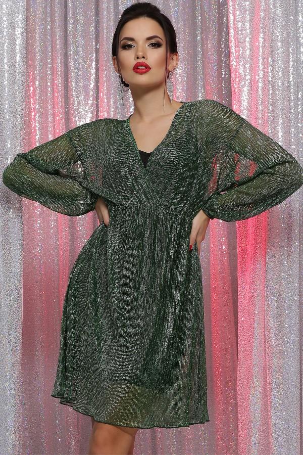 Святкова сукня Рузалія GL64668 зелене
