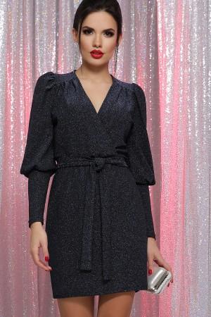 Плаття Зіта  GL64499 колір чорний-синій