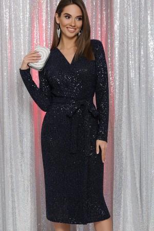 Святкова сукня Заліна GL65461 синій