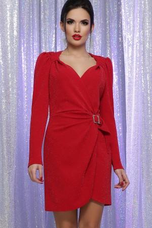 Шикарное платье Николь GL64391 цвет красный