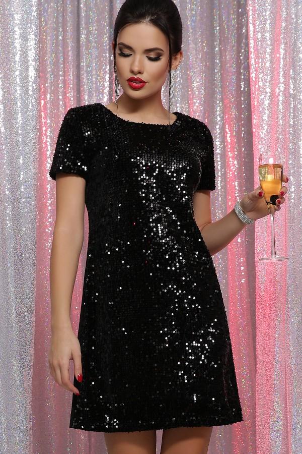 Плаття Іраїда к/р GL64106 колір чорний