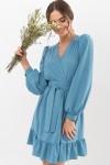 Сукня Іден д / р GL67466 колір Бірюза-точка Біла