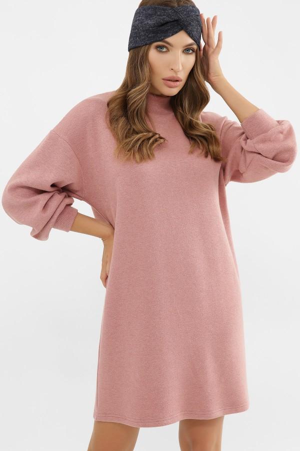 Тепла сукня Таліта GL63315 рожеве