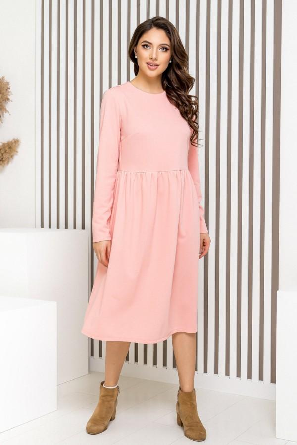 Вишукана  сукня вільного крою YM41802
