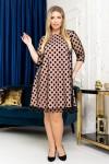 Сукня нарядна вільного крою  YM41701 Довжина сукні по спинці - 95см.