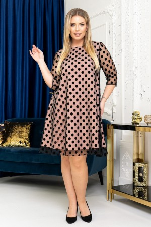 Вишукана  сукня трапеція YM41702