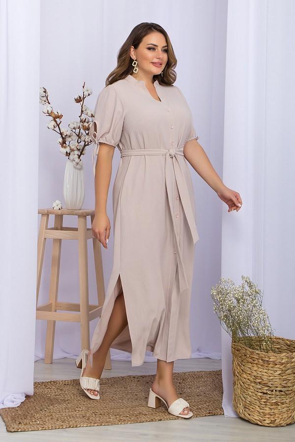 Сукня Мелита-Б к / р GL70290 колір світло беж