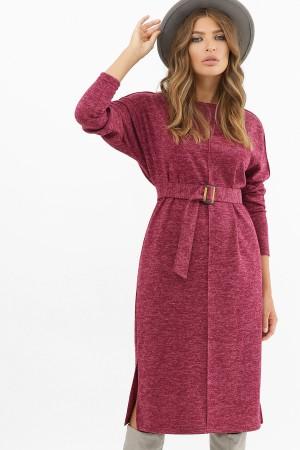 Зручна тепла сукня Беата GL62515 бордо