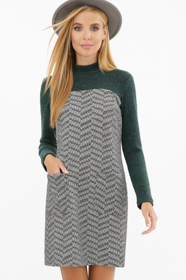 Деловое теплое платье  Дилора GL856502