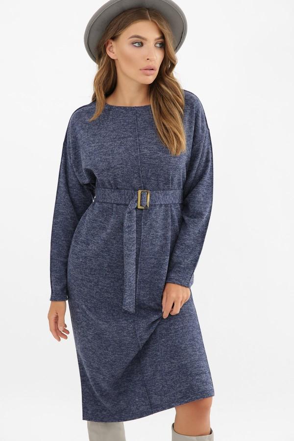 Зручна тепла сукня Беата GL62514  синій