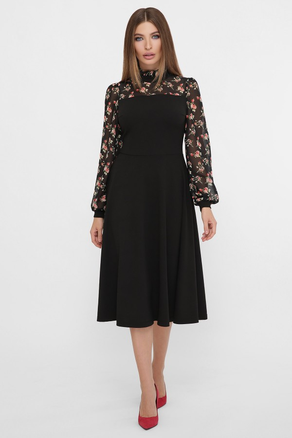Вишукана сукня Алтея GL62273 чорне