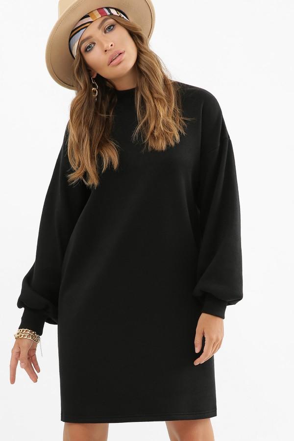 Тепла сукня Таліта   GL62379 чорне