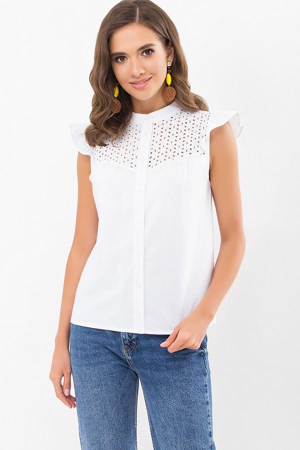 Блуза Млада б/р GL68538 цвет белый