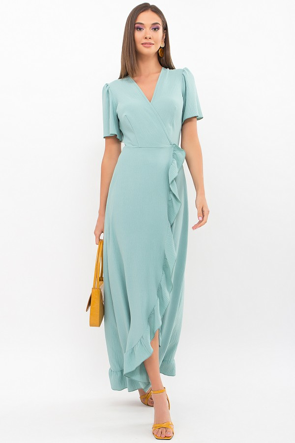 Плаття Румія-1 к/р GL69208 колір нефритовий
