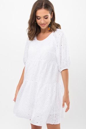 Платье Кати к/р GL69361 цвет белый 1