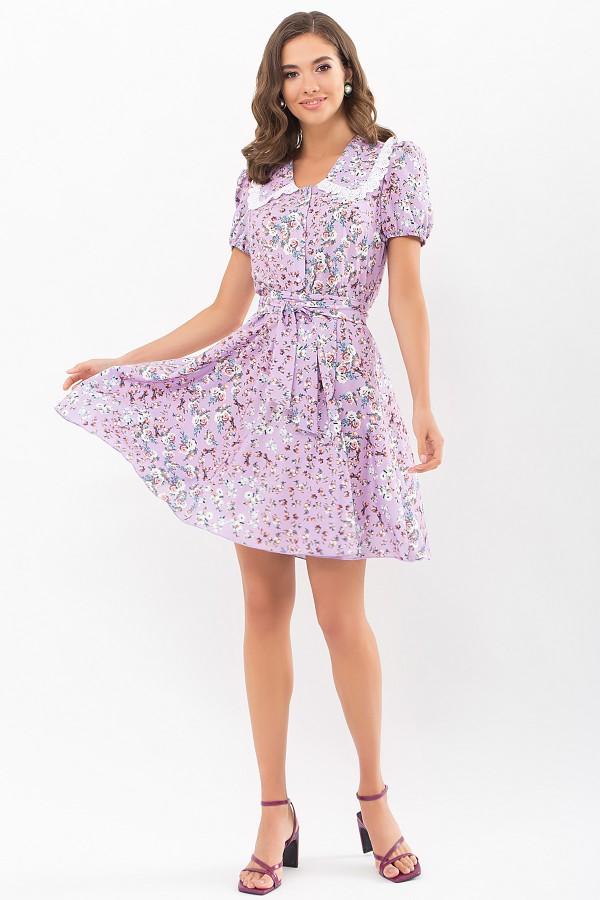 Плаття Еймі к/р GL68914 колір св. бузковий-м. троянди