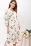 Плаття Сафура 3/4 GL68196 колір персик-гілка