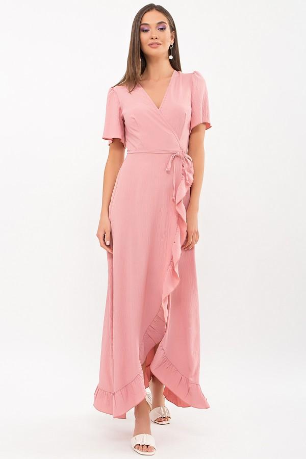 Плаття Румія-1 к/р GL69207 колір рожевий персик
