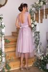 Чудова нарядна сукня GL67854 св.бузковий кольору