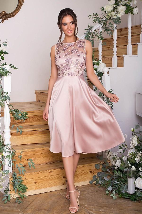 Чарівне плаття Пайпер GL67855 беж