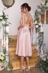 Чудова нарядна сукня GL67855 бежевого кольору