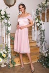 Чудова нарядна сукня Рузи GL67858 пудрового кольору