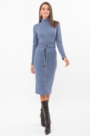 Плаття Віталіна 1 д/р GL73761 колір джинс