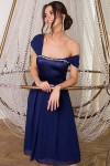 Чудова нарядна сукня Рузи GL67853 синього кольору