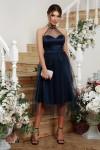 Чудова нарядна сукня Джена GL68825  синього кольору