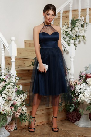 Чудове вечірнє плаття Джена GL68825 синє