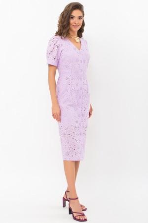 Платье Клера к/р GL69644 цвет лавандовый
