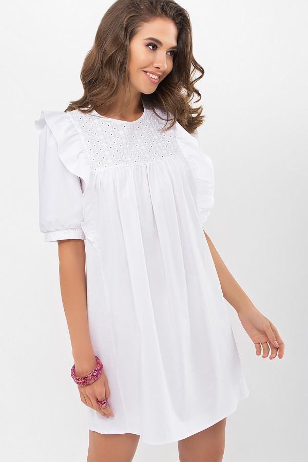 Плаття Зарема к/р GL69047 колір білий