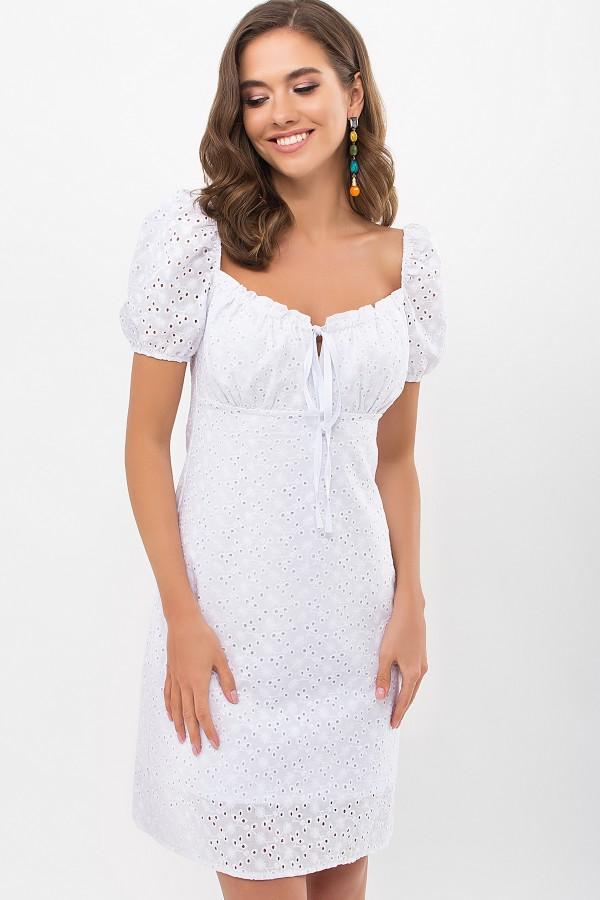 Платье Бажена к/р GL69071 цвет белый