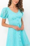 Плаття  Една к / р GL70939 колір білий